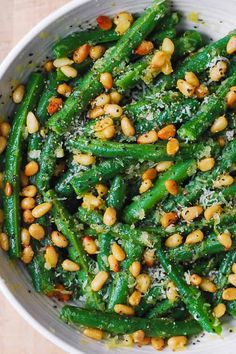 Green Beans with Pine Nuts is an easy and healthy recipe that will make a great side dish for any main course! It's a perfect and delicious way to add something green and healthy for your dinner! Combining green beans with garlic and pine nuts is one of the best and most delicious ways to …