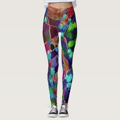 Fun leggings 436 - yoga health design namaste mind body spirit