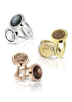 NEW! Mi Moneda rings; check out the collection on www.mi-moneda.com