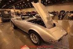 This vintage 1968 Chevrolet Corvette is owned by Frank Gilchrist.