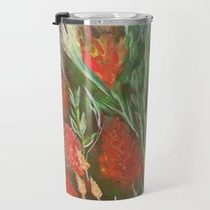 WILD FOWERS Travel Mug