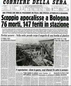 La strage di Bologna, compiuta la mattina di sabato 2 agosto 1980 alla stazione ferroviaria di Bologna, è il più grave atto terroristico avvenuto in Italia nel secondo dopoguerra, da molti indicato come uno degli ultimi atti della strategia della tensione.