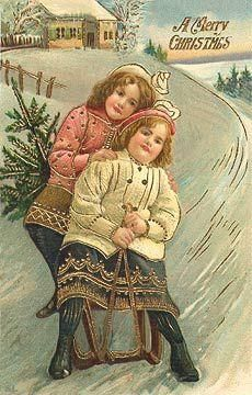 Vintage Christmas Images, Old Fashioned Christmas, Christmas Scenes, Christmas Past, Victorian Christmas, Christmas Photos, Christmas Greetings, Christmas Postcards, Christmas Decor