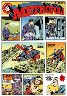 Superman Returns (2006). Cómic de Raúl Arias.