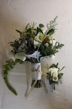 Exquisite White Christmas Wedding at Hoghton Tower for Pamela & Robert