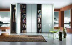 Buy custom bifold closet doors in Miami. Design for your taste with wide variety… Custom Bifold Closet Doors, Sliding Wardrobe Doors, Interior Styling, Interior Decorating, Interior Design, Tall Cabinet Storage, Locker Storage, Sliding Door Systems, Ikea Closet
