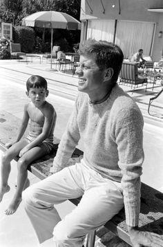 JFK and A boy