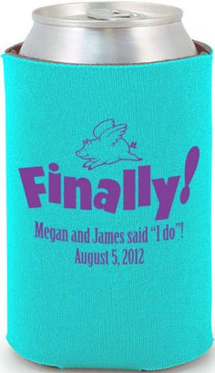 find this pin and more on wedding wedding koozies