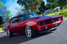 1969 Camaro RS Resto-Mod. Awesome American Muscle!