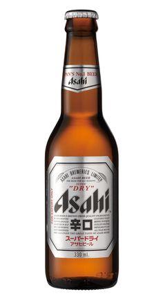 Asahi Super Dry, Pale Lager 5,0% ABV (Asahi Breweries, Japón) [abril 2017]