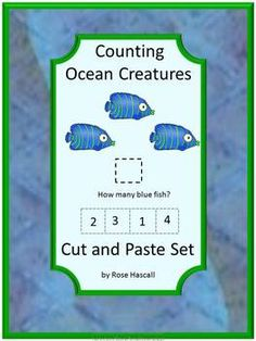 Special Education, Autism is an 18 sheet set of cut and paste activities using Ocean graphics. Oceans cut and paste gives the students the opportunity to practice their cutting and pasting skills while enjoying the ocean graphics. Oceans-All Creatures Above and Below Cut and Paste contains multiple pages using ocean graphics consisting of:  •What Comes Next  •Upper and Lower Letter Matching  •Number Matching  •Counting •Color Matching •Matching Objects That Go Together