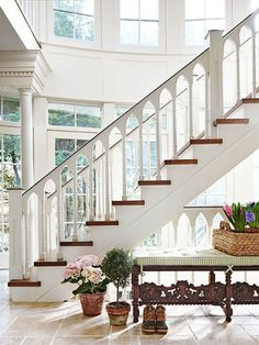 South Shore Decorating Blog: 25 Stunning Staircases