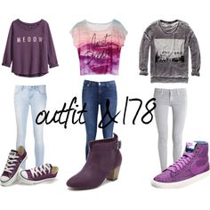 """""""outfit &178"""" by danielacarrasco467 on Polyvore"""