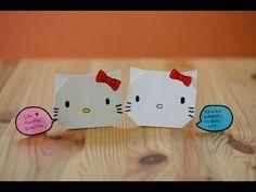 How to Fold Hello Kitty Origami (HD)