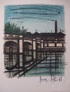 Bernard Buffet (1928-1999) (after) - Le Pont de la Concorde