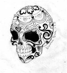 Sugar Skull Drawings - - Yahoo Image Search Results