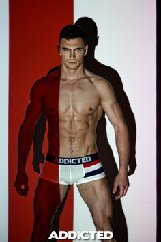 Anton Agat for #addicted #underwear www.VOCLA.com