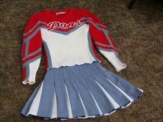 Vtg 80s Cheerleader Uniform Retro Chear Leader Costume Sweater Skirt Outfit | eBay Sweater Skirt Outfit, Back To The 80's, Cheerleading Uniforms, Cheer Skirts, Costumes, Retro, Sweaters, Ebay, Shopping