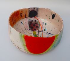 Bowl with orange 2012