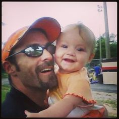 Baby Alissa and her daddy
