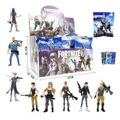 3 Pieces Fortnite Action Figures - Set of 3 Packages Surprise Fortnite Dolls Epic Fortnite, Xbox One Console, Geek Gifts, Funny Moments, 3 Piece, Action Figures, Product Launch, Dolls, Cards