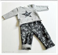 Mini couture, maxi confort ! ensemble bébé 6/9 mois / baby sewing