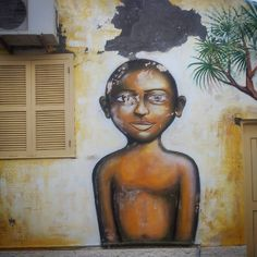 """Street art  #capeverde #caboverde #africa #art #beautiful #beauty #island #santiago #street #streetart #ilovebeingblack #iLBB"""