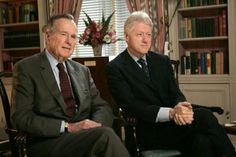 cool George H.W. Bush Note to Bill Clinton