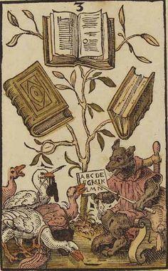 Jost Amman, Charta lusoria, 1588