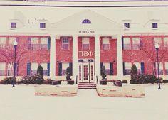 My beautiful North Texas ΠΒΦhouse! #TexasEpsilon