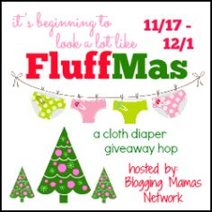 WIN a Rockin Rock-a-Bums Cloth Diaper Prize Package - It's Beginning To Look A Lot Like #Fluffmas Giveaway Hop