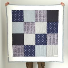 Image of Anchors Away Cot Quilt