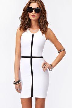 Cross the line dress