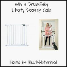 IHeart-Motherhood: Dreambaby Liberty Security Gate Review and Giveaway