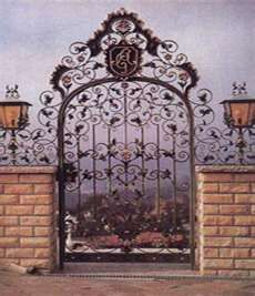 Wrought Iron Garden Gate, Sell Wrought Iron Garden Gate,Wrought Iron ...