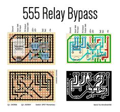 I know there are a bunch of you out there who like your 555 timers, so this one's for you guys. This relay bypass uses a 555 as a bistable f...