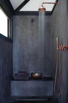 Dark bathroom interior                                                                                                                                                                                 More