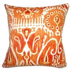 Haestingas Ikat Pillow Pumpkin
