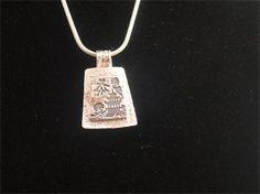 PURE SILVER JAPANESE GARDEN PENDANT - $125.00 #jewellery #pendant #pure silver #silver #japanese garden #garden #handmade # handcrafted