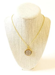 St Benedict necklace, St Benedict medal, Gold plated Necklaces, Catholic Jewelry, Religious Jewelry, Catholic Necklace, Collar San Benito by mariacruz. Explore more products on http://mariacruz.etsy.com