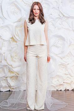 Top et pantalon de mariée - Naeem Khan - La Fiancée du Panda blog Mariage et Lifestyle