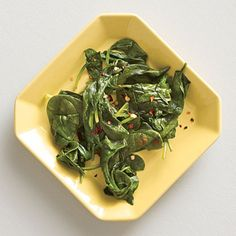 You can throw Cider Vinegar-Spiked Steamed Baby Spinach together in about five minutes. The cider-vinegar sets this veggie side apart and...