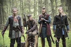 Marco Islø as Hvitserk, Alex Høgh Andersen as Ivar, Jordan Patrick Smith as Ubbe.........Ragnar's Boy's