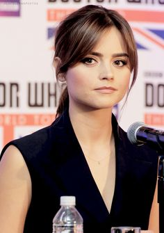 Jenna in Mexico City for the Doctor Who World Tour (16.08.14)