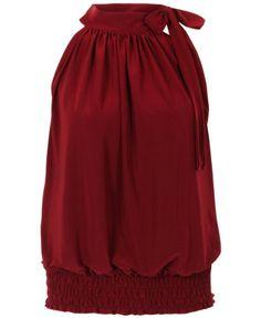 Fast Fashion Damen Top Scher Plus Size Klar Neckholder Dehnbar Ärmelloses  Fast Fashion http:/