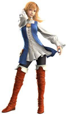 Final Fantasy III (DS) -  Refia