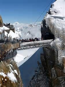 Aiguille Du Midi Bridge - Bing Images