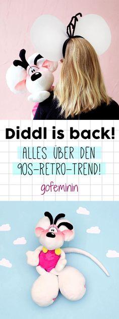 OMG! Diddl ist zurück! Alles über den Retro-Trend aus den 90ern findet ihr auf gofeminin.de