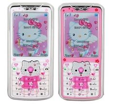 hello kitty mobile phone, circa two colorways Retro Phone, Phone Themes, Flip Phones, Emo Scene, Sanrio Characters, My Melody, Indie Kids, Pink Aesthetic, Magazine Design