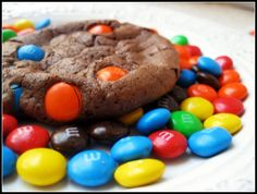 A Whisk and A Prayer: Big Ol' MnM Cookies